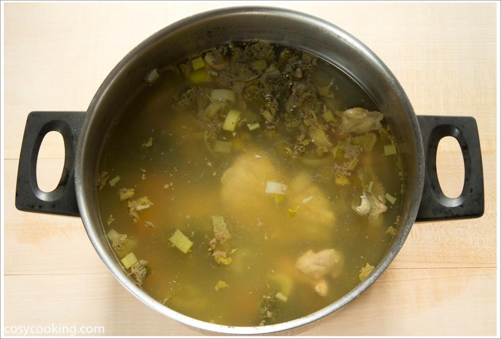 1 wahl huhnersuppe mit galgant nach johanna maier