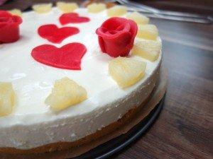 Ananas-Marzipan-Torte ohne Backen