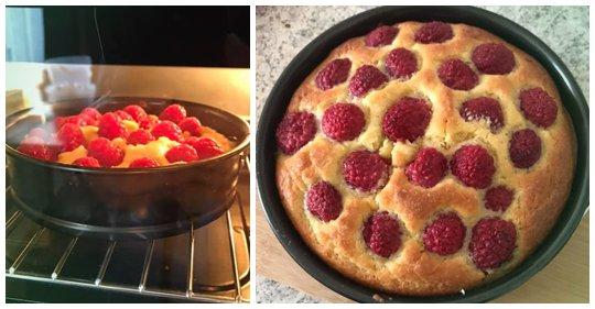 Super LowCarb Himbeer-Kuchen