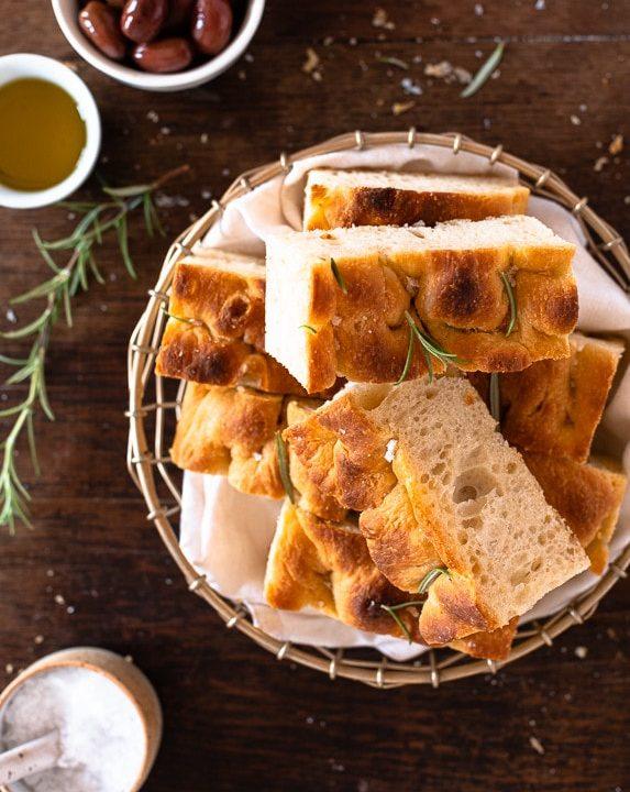 Focaccia – fluffiges italienisches Brot