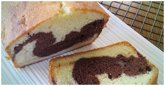 Schokoladiger Marmorkuchen (low carb rezept)
